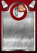 Постер, плакат: Pizza Menu Design