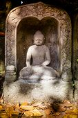 pic of stone sculpture  - Bali - JPG