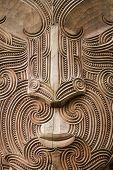 stock photo of maori  - Close up shot of Maori North Island New Zealand - JPG