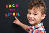 image of schoolboys  - Back to school concept - JPG