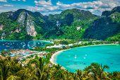 stock photo of phi phi  - Travel vacation background  - JPG