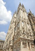 image of reconstruction  - Detail of the Milan Cathedral Square  - JPG