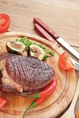 pic of cayenne pepper  - meat entree  - JPG