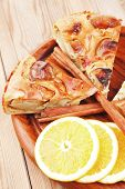 picture of cinnamon sticks  - baked food  - JPG