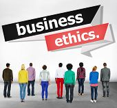 stock photo of integrity  - Business Ethics Integrity Honesty Trust Concept - JPG