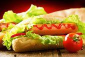 image of hot dog  - Hot dog - JPG