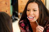 stock photo of lip augmentation  - She - JPG