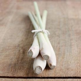 foto of thai food  - Lemon grass isolated on a wooden bg - JPG