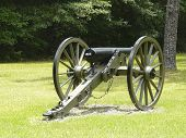Olustee Battlefield Civil War Site Cannon poster