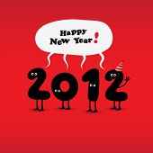 image of new years  - Funny 2012 New Year - JPG