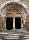 12Th Century Tympanum Sculpture