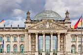 image of geodesic  - Reichstag in berlin germany - JPG