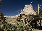 Abandoned Covered Wagon