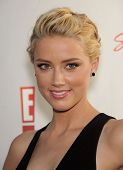 LOS ANGELES - AUG 11:  AMBER HEARD arriving to Summer TCA Party 2011 - NBC  on August 11, 2011 in Be