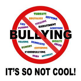 foto of disrespect  - Bullying it - JPG