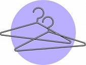 wire clothes hanger