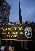 Teamsters #16 Banner in solidarity