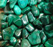 picture of malachite  - green malachite mineral texture as nice background - JPG