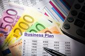 picture of self-employment  - a business plan for starting a business - JPG