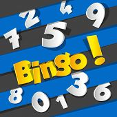 image of poker machine  - Creative Abstract Bingo - JPG