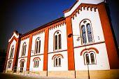 stock photo of synagogue  - Jewish Synagogue at town Ruzomberok in Slovakia - JPG