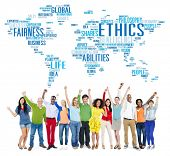 foto of moral  - Ethics Ideals Principles Morals Standards Concept - JPG