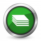 picture of gage  - layers green icon gages sign  - JPG