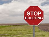 pic of school bullying  - Stop Bullying Sign Concept For Social Awareness - JPG