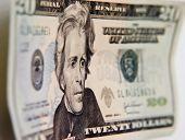 foto of twenty dollar bill  - Twenty US - JPG