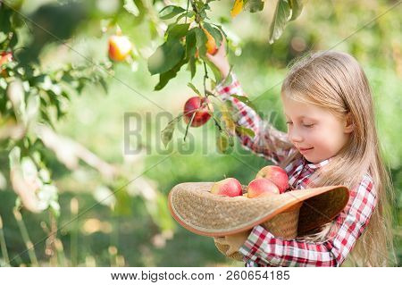 Girl With Apple In The