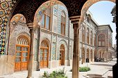 stock photo of tehran  - Beautyful architecture of Golestan  palace - JPG