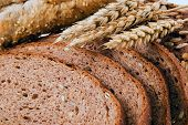 image of whole-grain  - Close up of whole grain bread - JPG