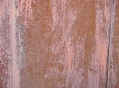 Rusted Metal Corrugated Metal Background.rusty Meta.old Metal Sheet Roof Texture poster