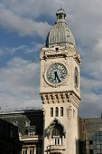 stock photo of gare  - Famous railway station in Paris France - JPG