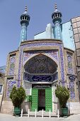 image of tehran  - Small mosque in Tehran in central Iran - JPG