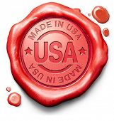 Made in USA original americano producto comprar local comprar auténtico nos América