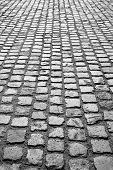 Cobblestone Pavement Or Stone Pavement Texture