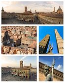Collage Of Bologna - Italy