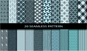 20 seamless pattern
