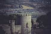 picture of parador  - City wall of Toledo - JPG