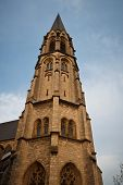 Постер, плакат: Holy Cross Church In Aachen Germany