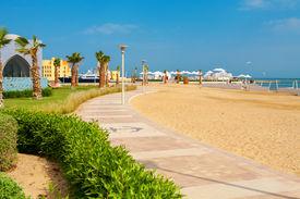 stock photo of tig  - Promenade in Abu Tig Marina - JPG
