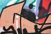 Weathered Graffiti poster