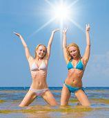 picture of denude  - Beauties Joy In Bikini  - JPG