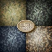 stock photo of camoflage  - Military camouflage backgrounds  - JPG