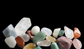 stock photo of calcite  - Semi - JPG