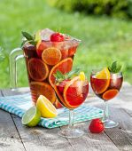 pic of refreshing  - Refreshing fruit sangria  - JPG