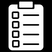 picture of tasks  - Test task icon from Business Bicolor Set - JPG