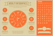 stock photo of more info  - Mobility infographic template and elements - JPG
