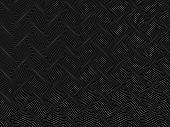 stock photo of distortion  - abstract black and white wireframe distortions - JPG